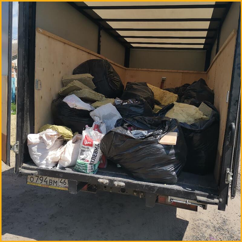 Вывоз мусора в Курске