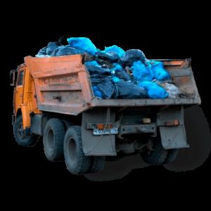 Камаз с мусором