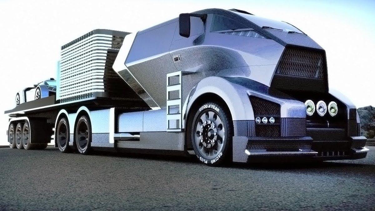 Грузовой автомобиль из будущего
